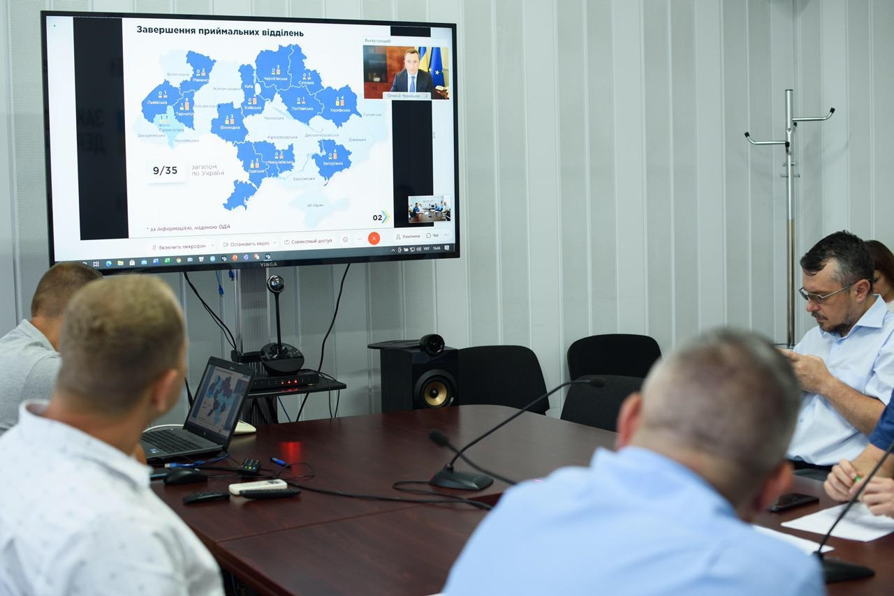 У Мінрегіоні відзначили позитивну динаміку будівництва приймальних відділень на Закарпатті