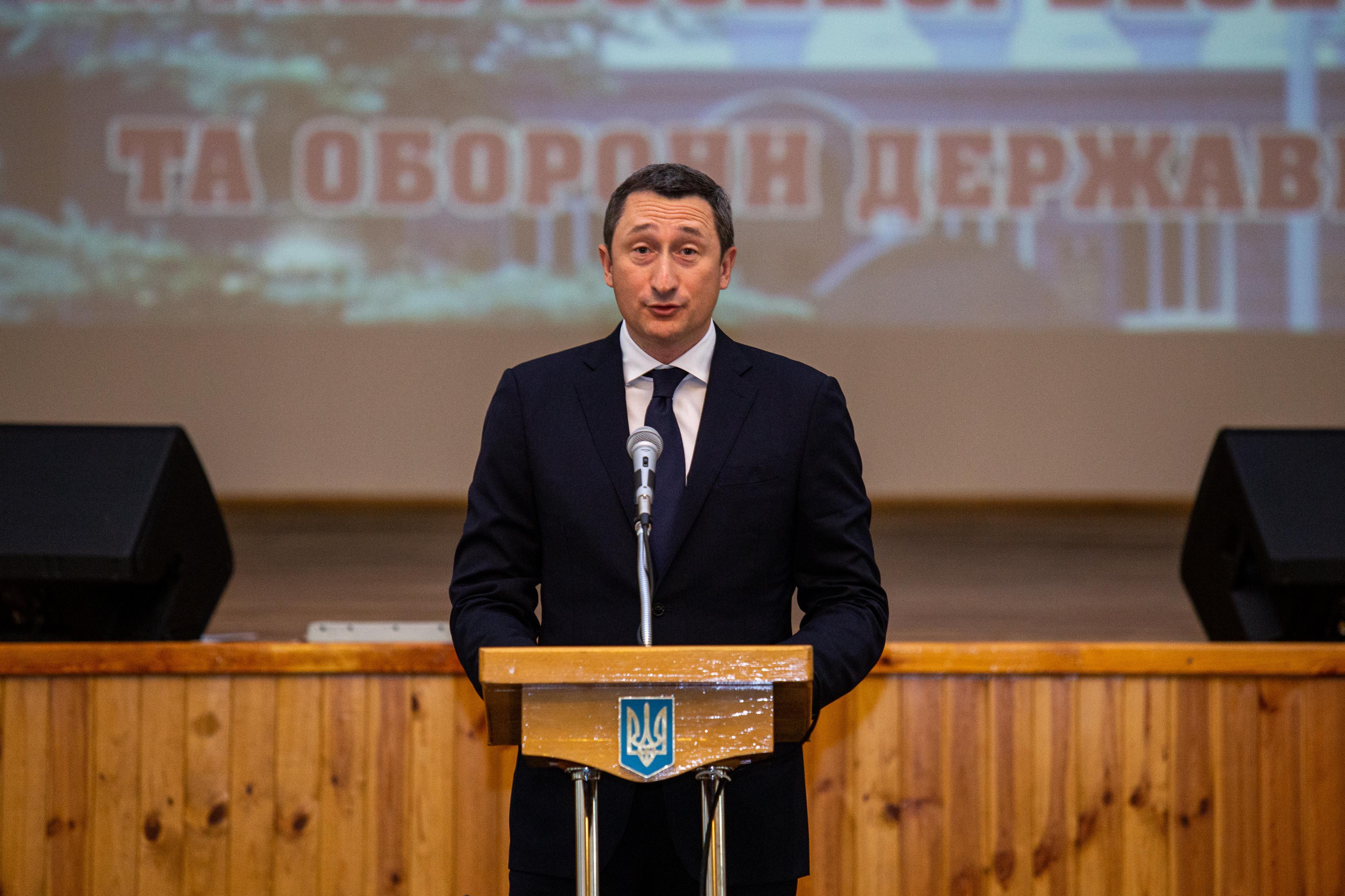 Очільник Закарпатської ОДА Анатолій Полосков успішно завершив курси підвищення кваліфікації з питань воєнної безпеки та оборони держави