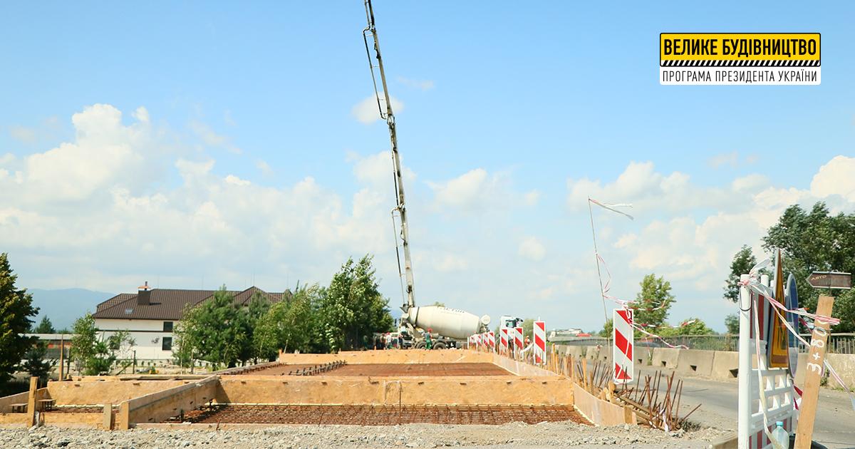 «Велике будівництво»: на Хустщині відновлюють 62-метровий міст