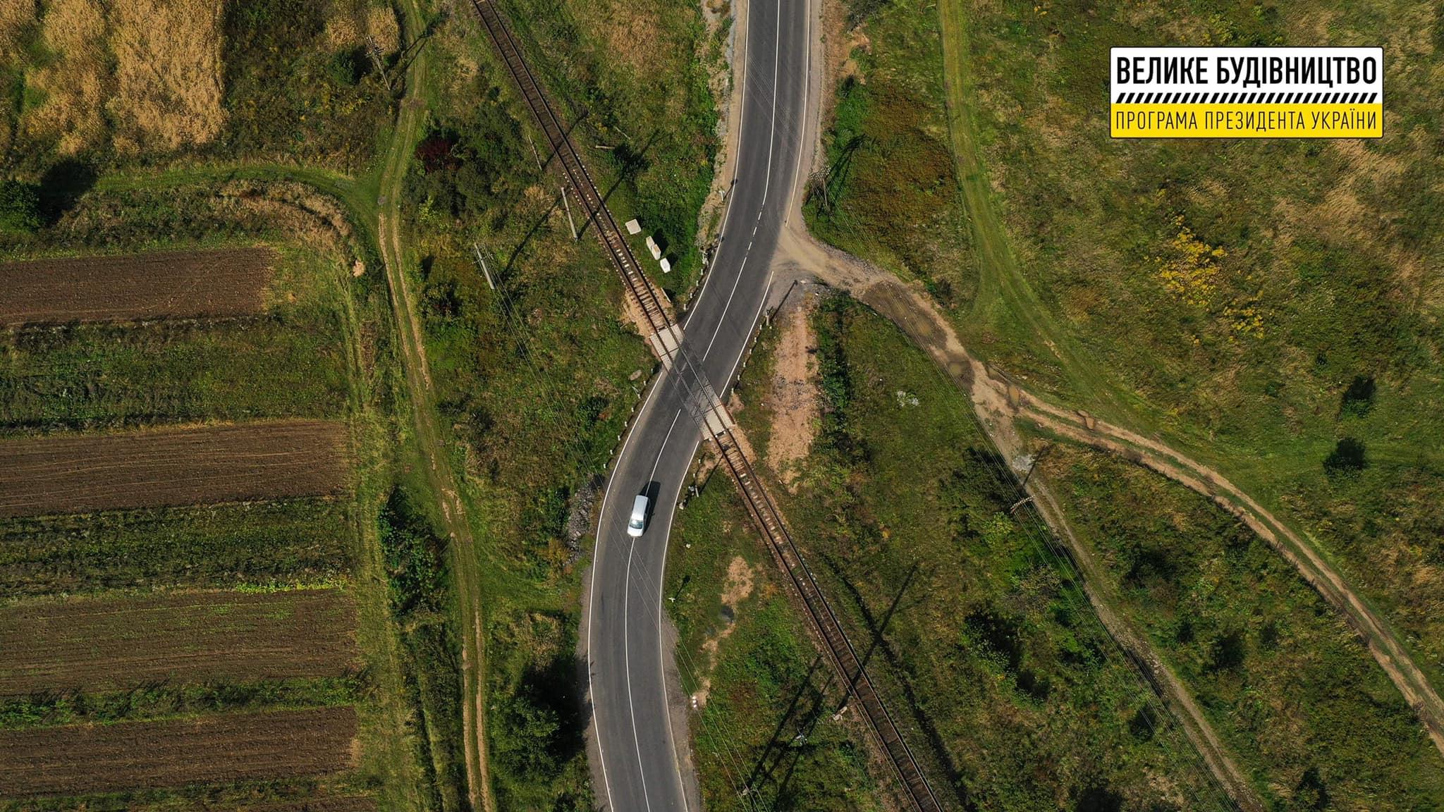 Дорогу в смт Великий Березний відремонтували в межах «Великого будівництва»