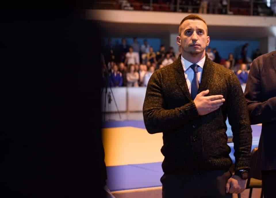 «Звичайно вболіваємо за наших спортсменів Закарпатської обласної федерації дзюдо і бажаємо лише перемог на татамі», — Ігор Шинкарюк