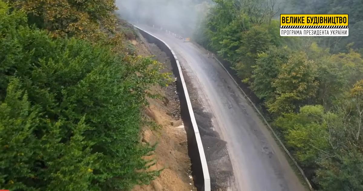 У межах ремонту дороги на Рахівщині зводять одразу кілька підпірних стінок, – Іштван Петрушка